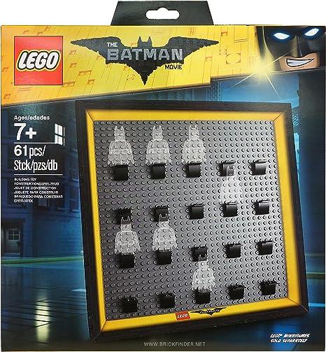 LEGO The Batman Movie Vitrine Minifiguren Schwarz 8 MINIFIGURE DISPLAY CASE