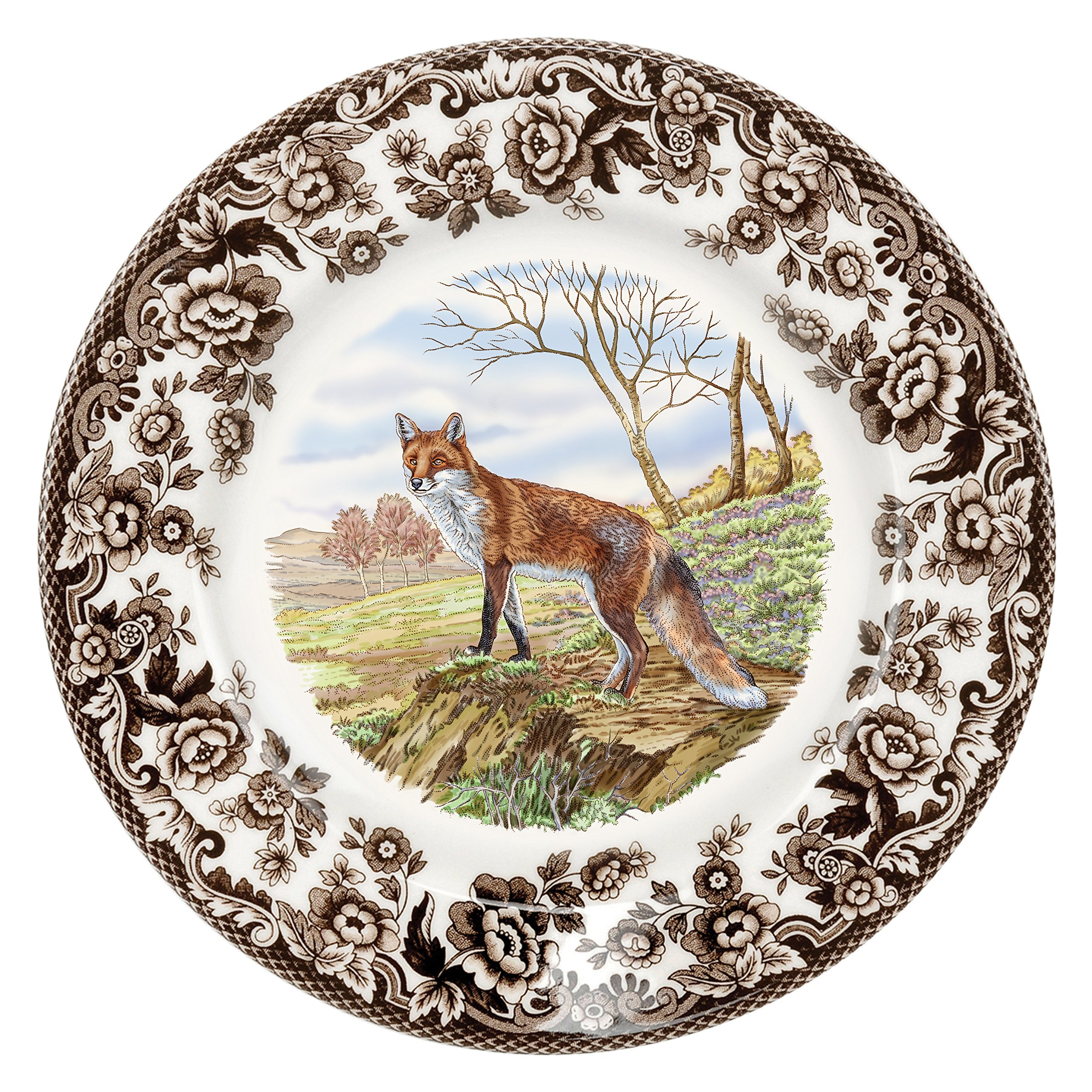 Spode 1607279 Woodland Red Fox Salad Plate