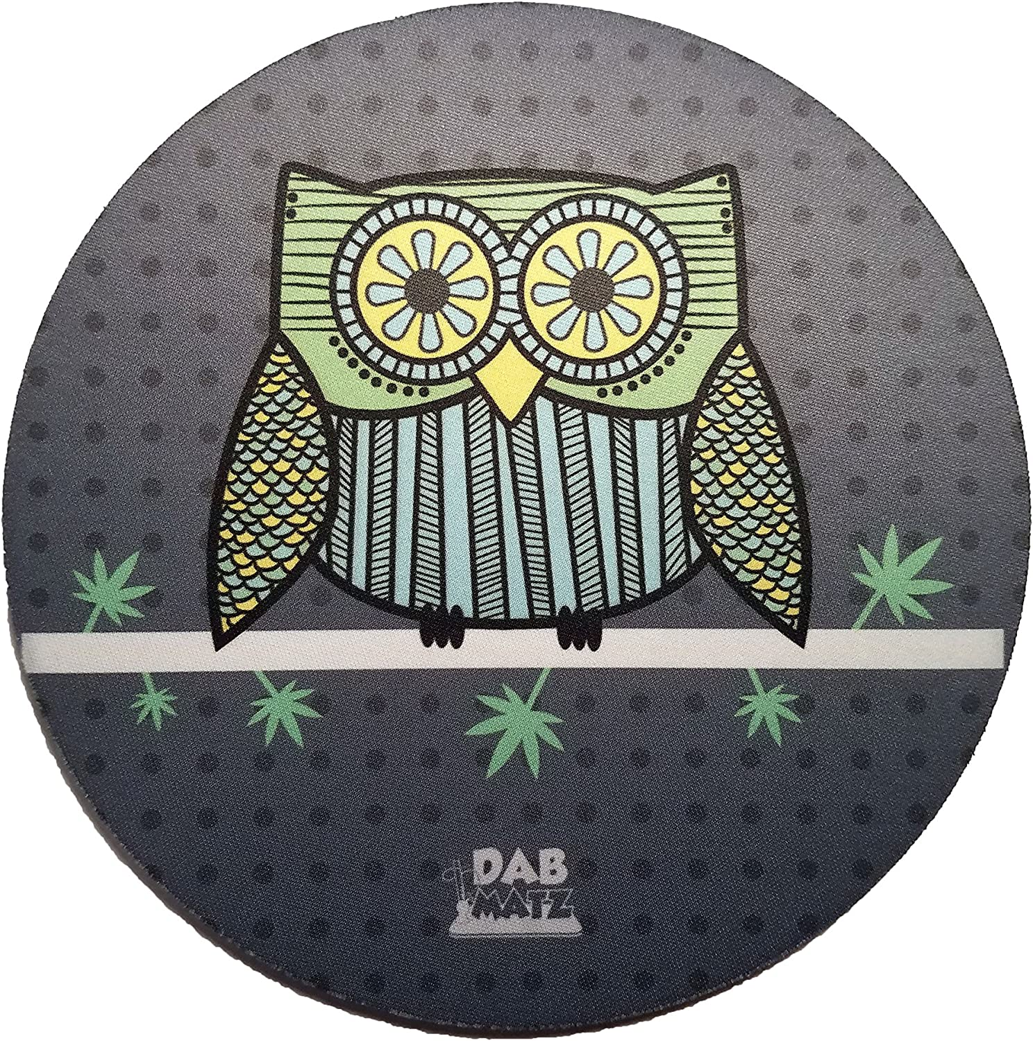 """8"""" Under Electric Skies Mousepad Style Dab Mat/Pad"""