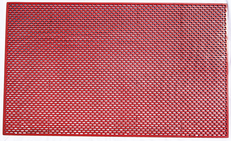 KMSマット 12-H Fタイプ 赤色 B00EVKNBO2 10000