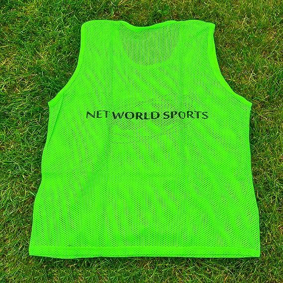 FORZA Soccer PinniesFluorescent Scrimmage VestsSoccer BibsPack of 5