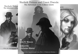 Supernatural Case Files of Sherlock Holmes Books 1-3 - Christian Klaver