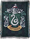 """Harry Potter, Slithering's Crest Woven Tapestry Throw, 48"""" x 60"""""""