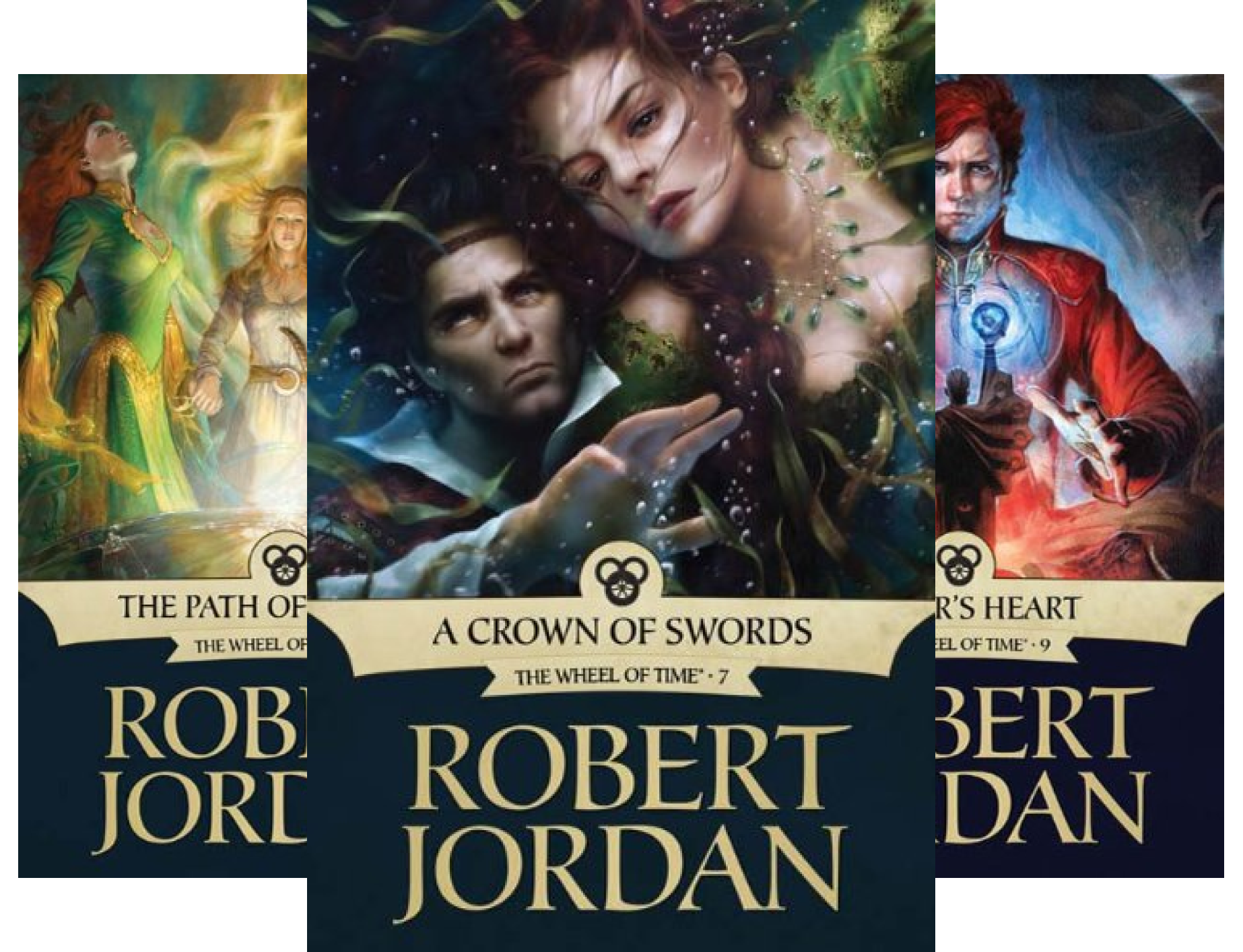 The Wheel of Time, Box Set 3: Books 7-9 (A Crown of Swords / The Path of Daggers / Winter's Heart) (3 Book Series)