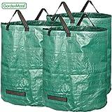 GardenMate® 3x Gartensack 272l aus robustem Polypropylen-Gewebe (PP) 150gsm