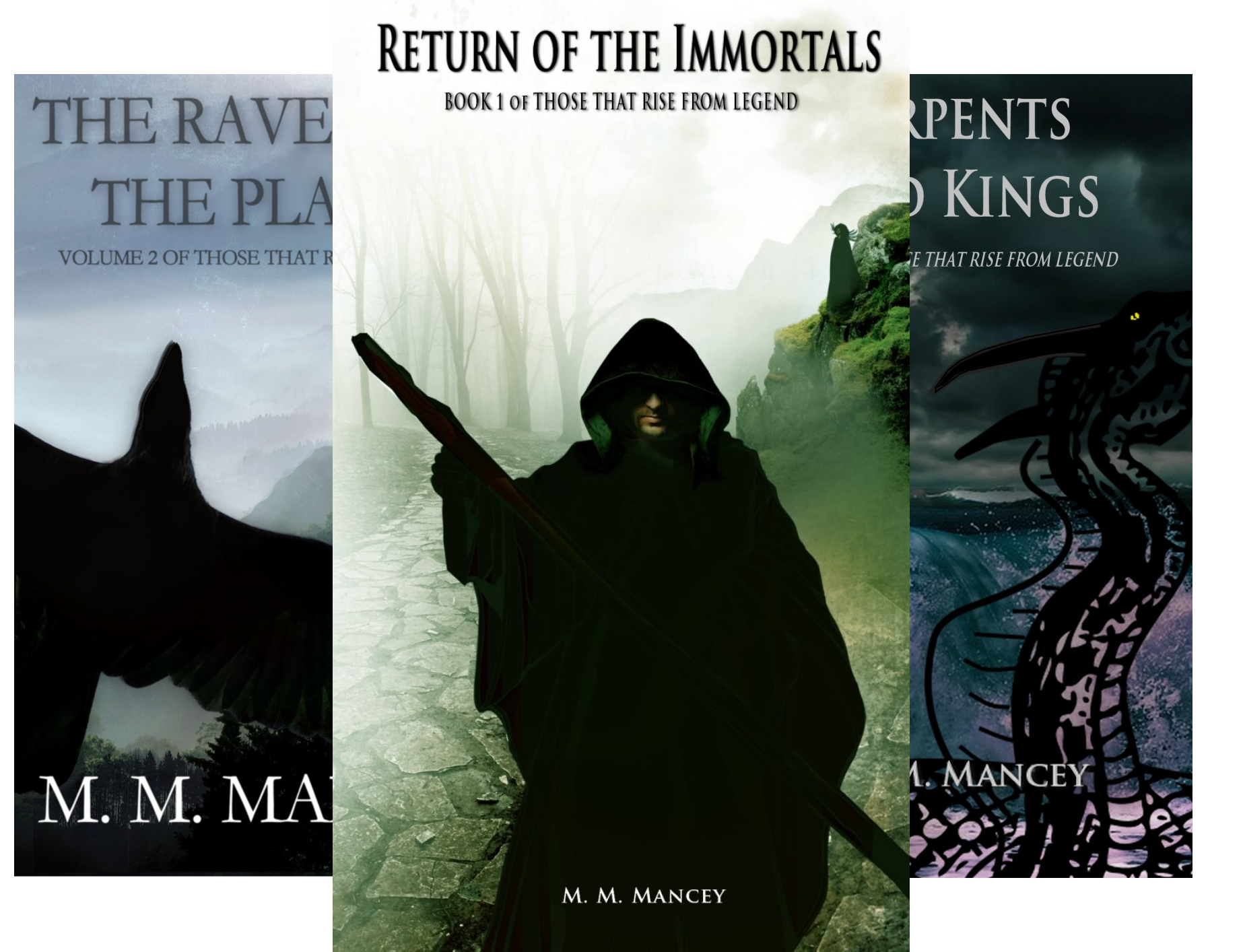 Those That Rise From Legend (3 Book Series)