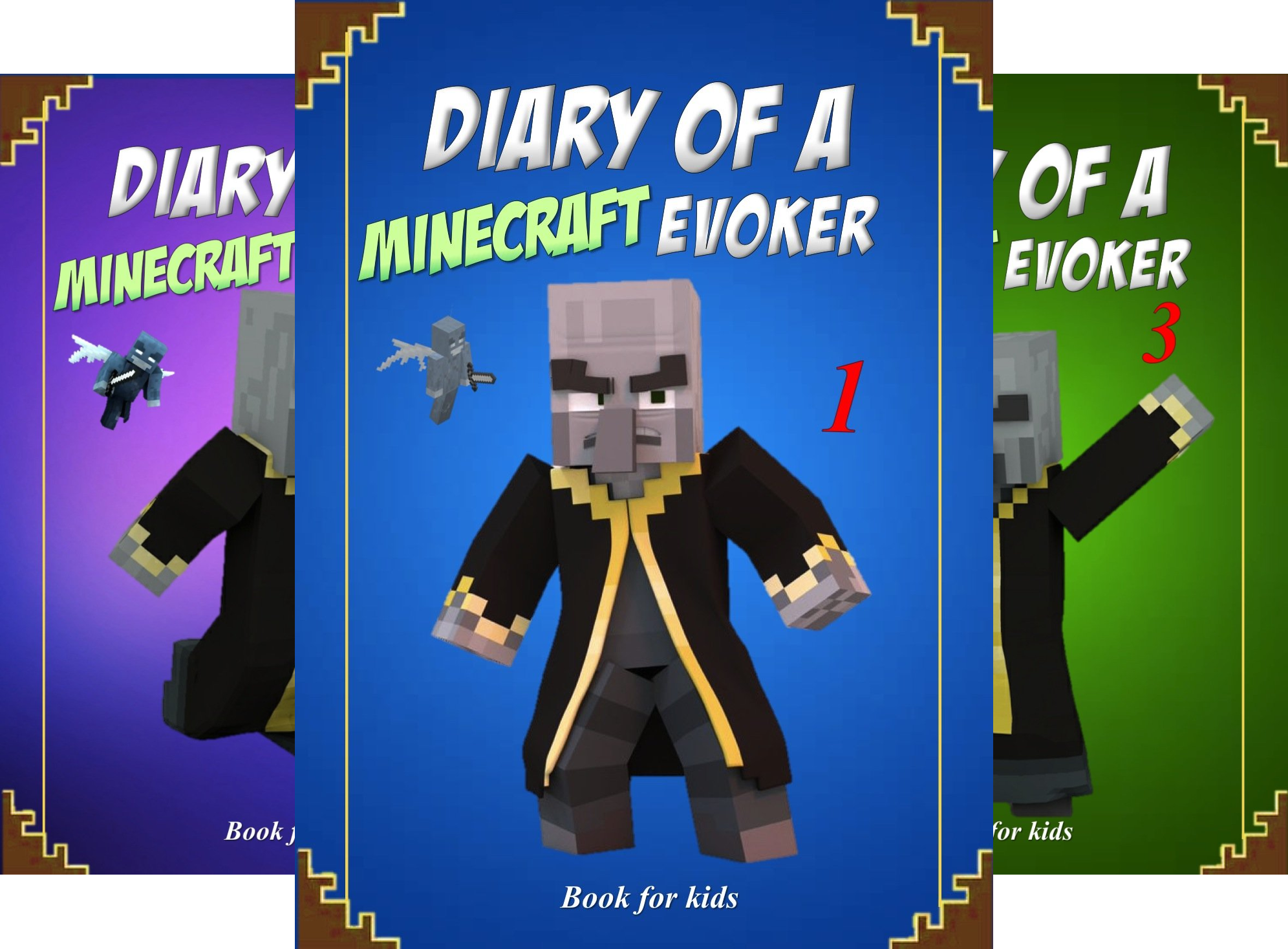 Evoker's Diary (4 Book Series)
