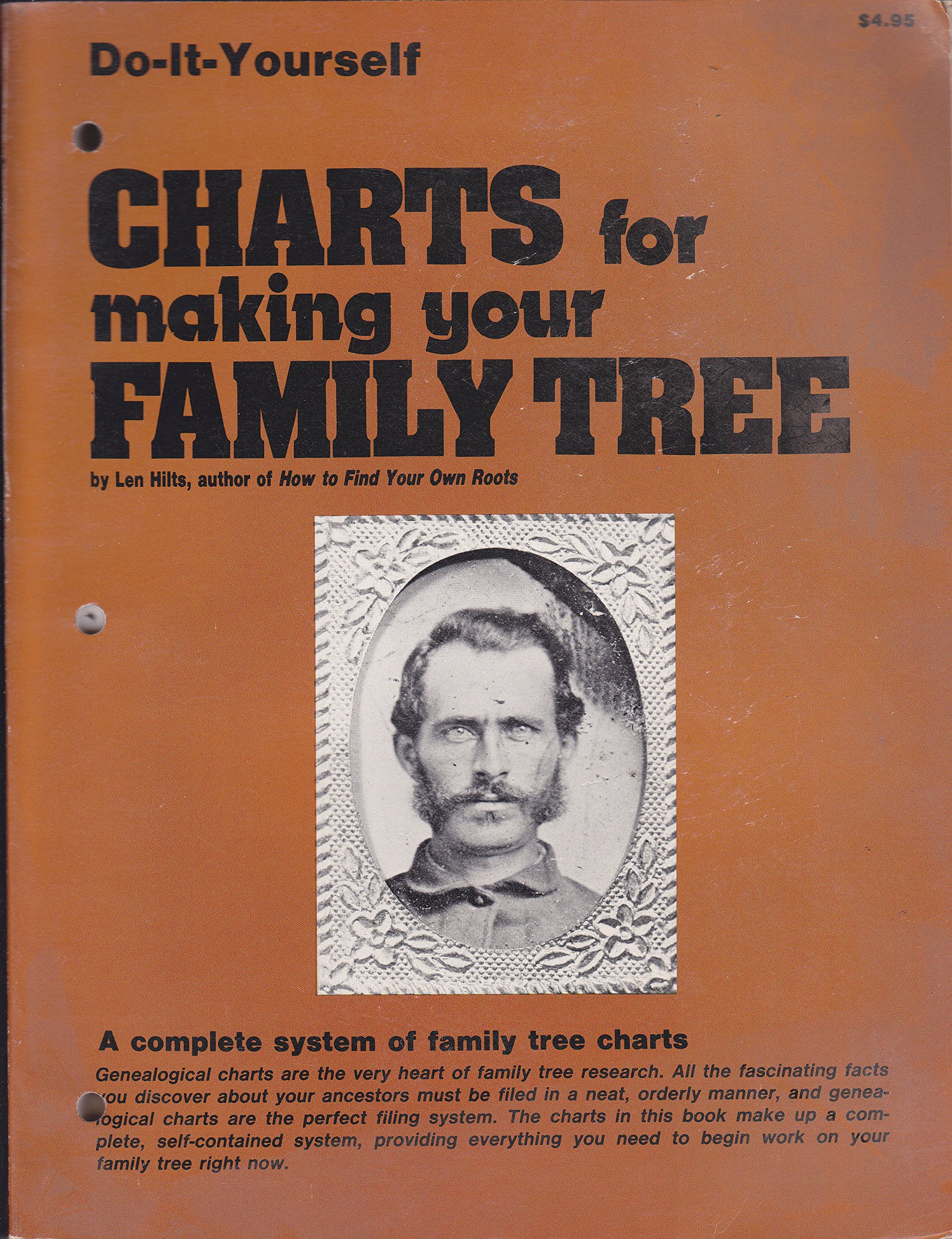 charts for making your family tree len hilts amazon com books