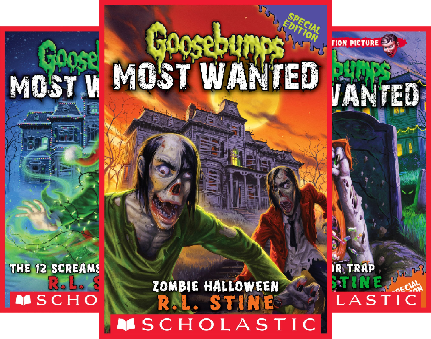Goosebumps Most Wanted Special Edition (3 Book -