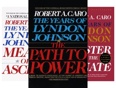 The Years of Lyndon Johnson (4 Book Series)