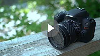 Amazon com : Canon EOS Rebel SL2 DSLR Camera with EF-S 18-55mm STM