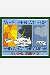 Weather Words and What They Mean Paperback