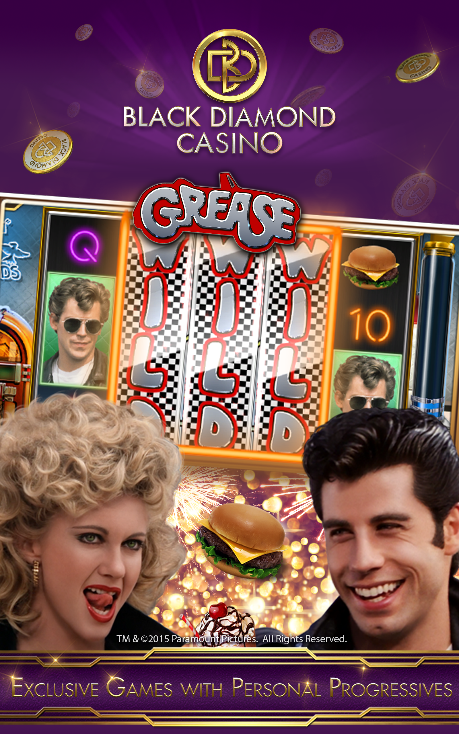 black diamond casino slots free coins