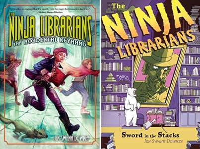 The Ninja Librarians: The Accidental Keyhand - Kindle ...
