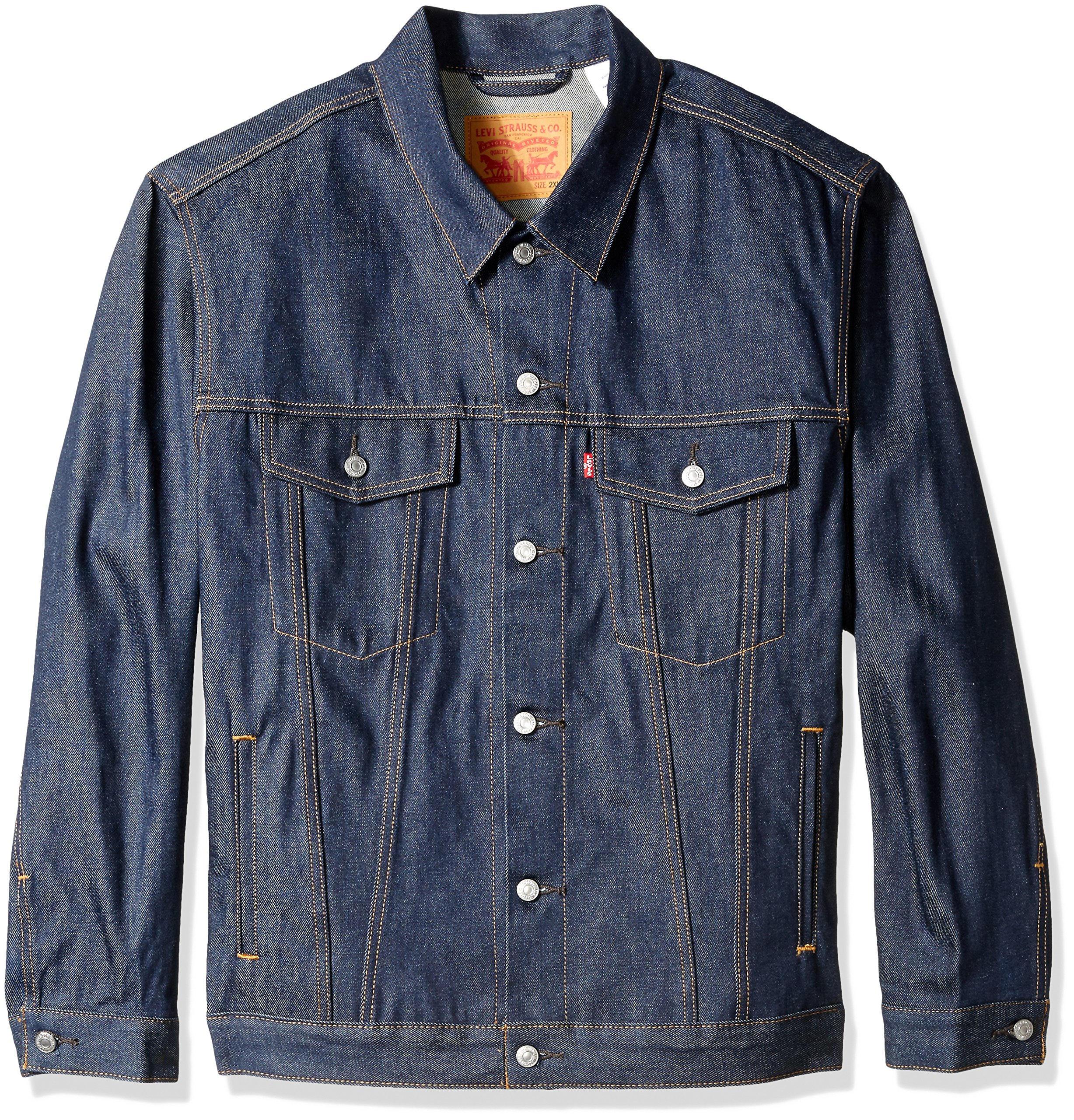 Levi's Men's Big and Tall Trucker Jacket, Rigid, 3XL by Levi's