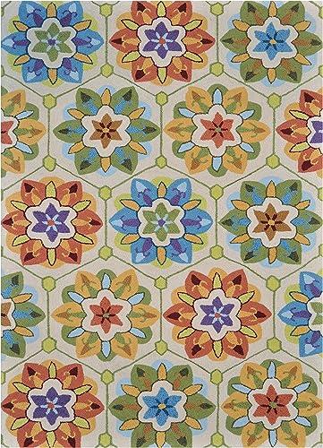 Loloi Juliana Ivory Multi Polyester, JL-13