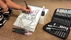 Set de 4 l/ápices solubles en agua para bocetos Derwent Sketching bl/íster