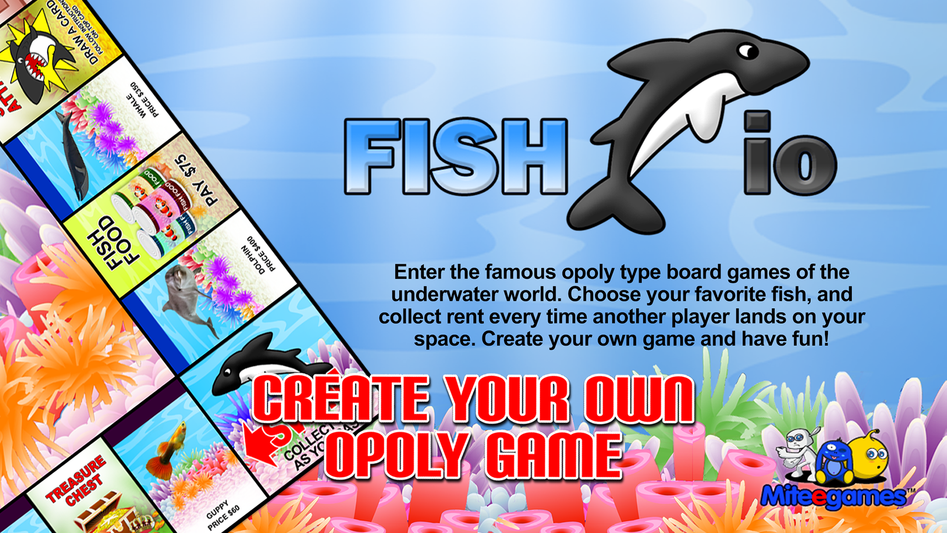 Fish io opoly style board game appstore for for Fish io games