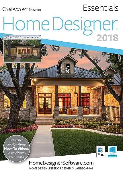 Amazon.Com: Home Designer Essentials 2018 - Pc Download [Download
