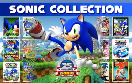 Amazon Com Sonic Games Collection Online Game Code Video Games