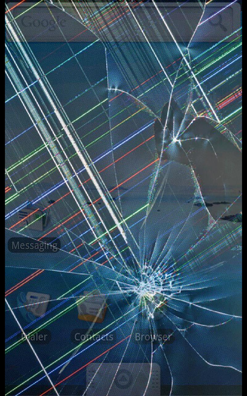 Broken Glass Wallpaper For Windows