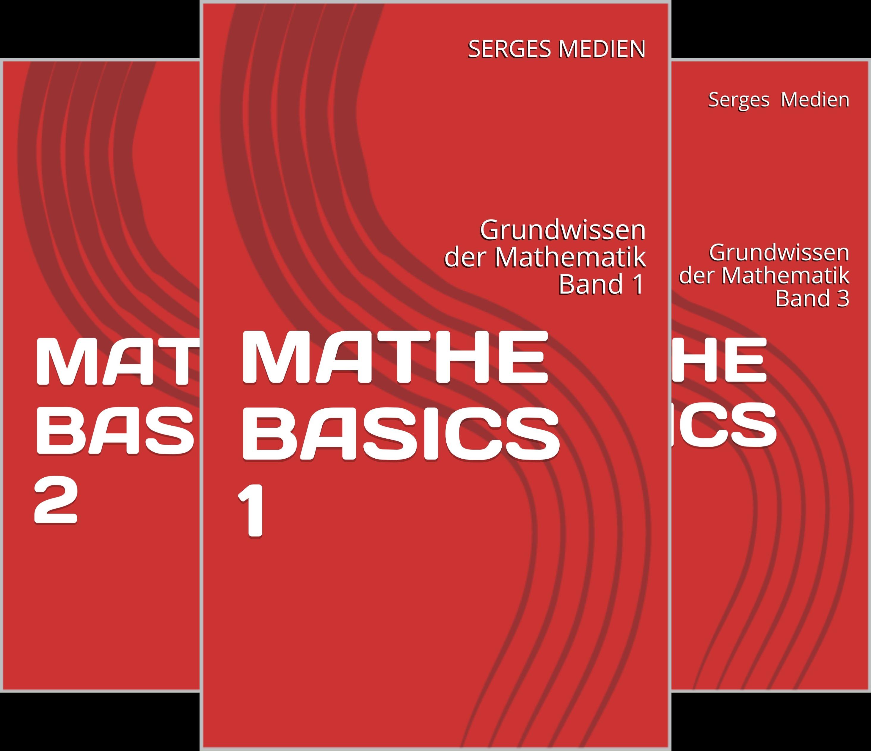 Grundwissen der Mathematik (Reihe in 4 Bänden)