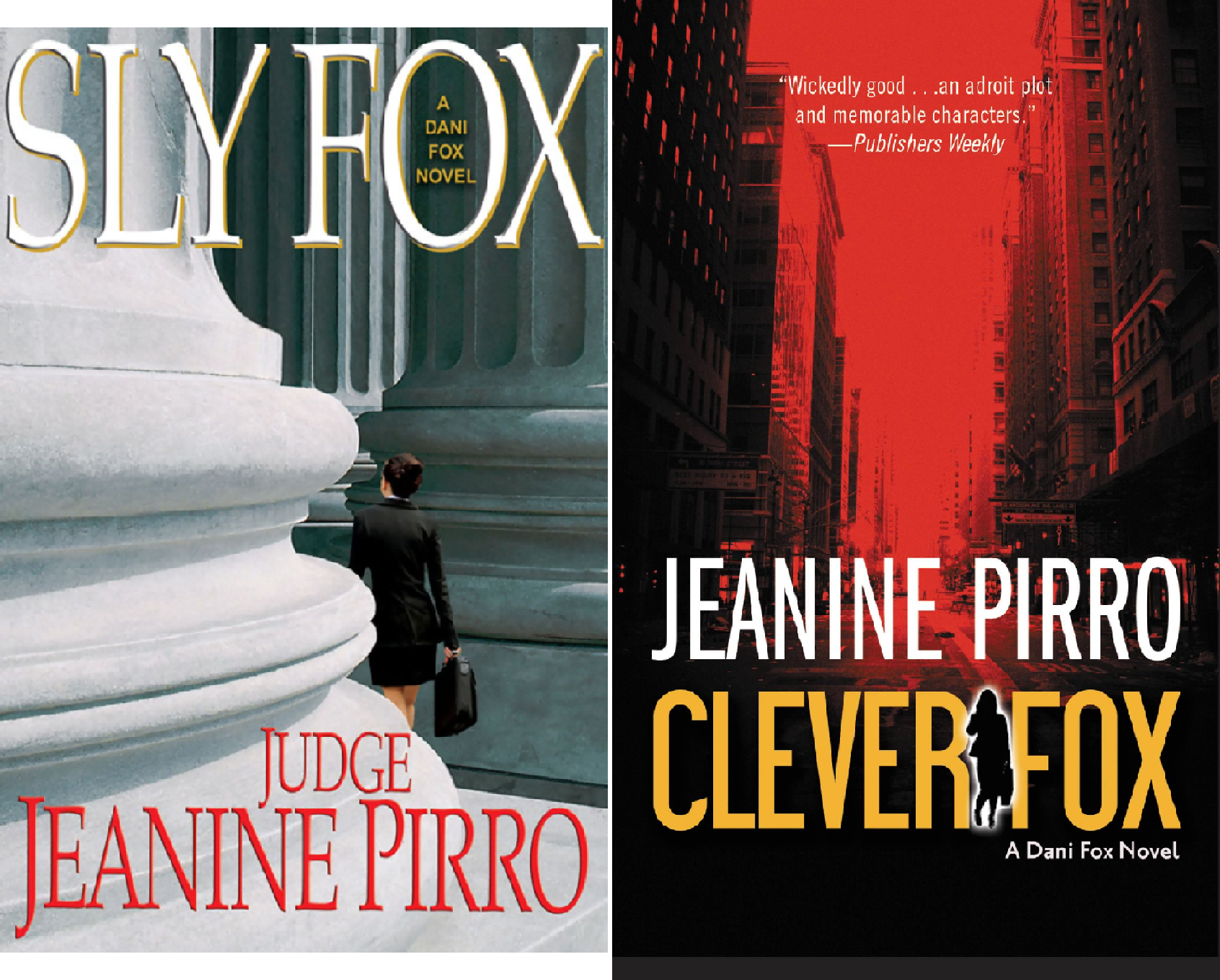 Book cover from Dani Fox (2 Book Series) by Jeanine Pirro