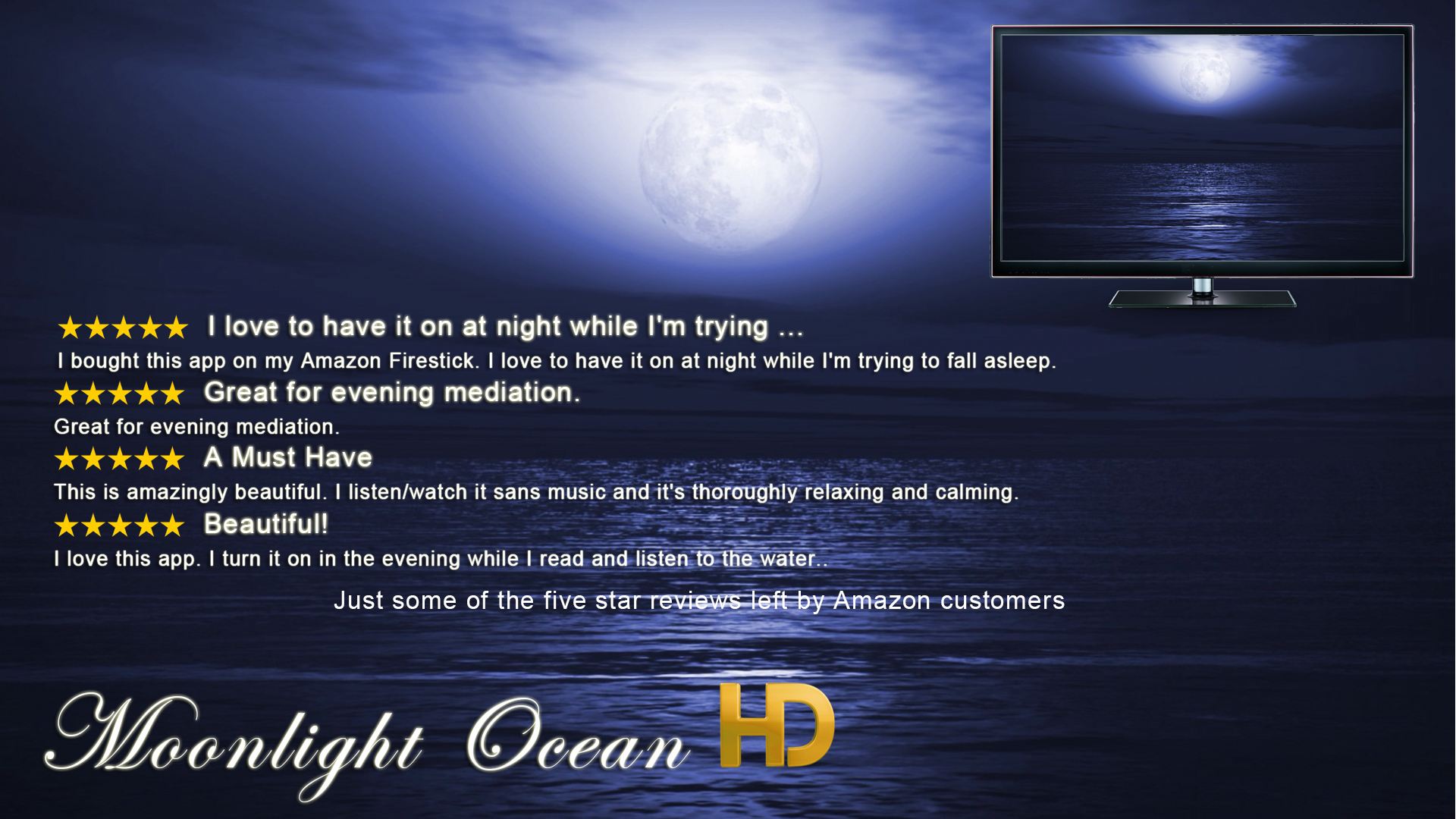 Large Product Image of Moonlight Ocean HD