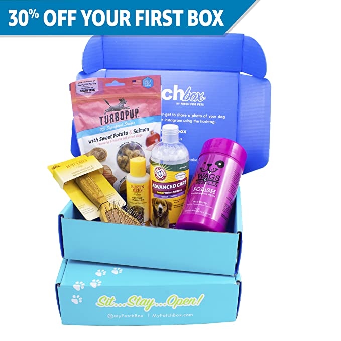 FetchBox - Monthly Subscription Box for Any Dog