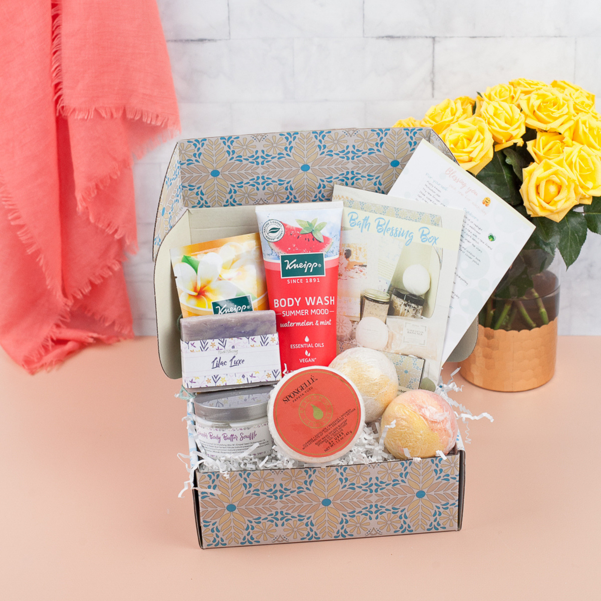Bath Blessing Sanctuary Bath Subscription Box: 5+ Bath Products