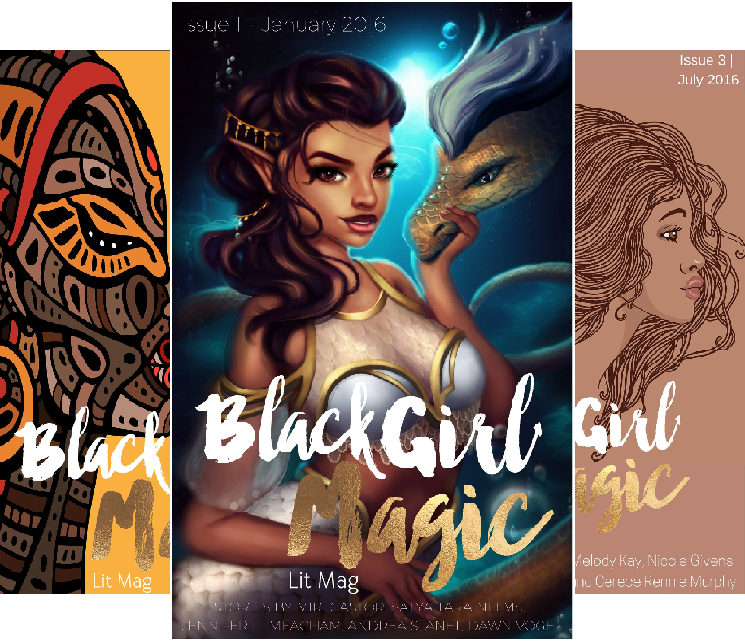 Black Girl Magic Lit Mag (5 Book Series)