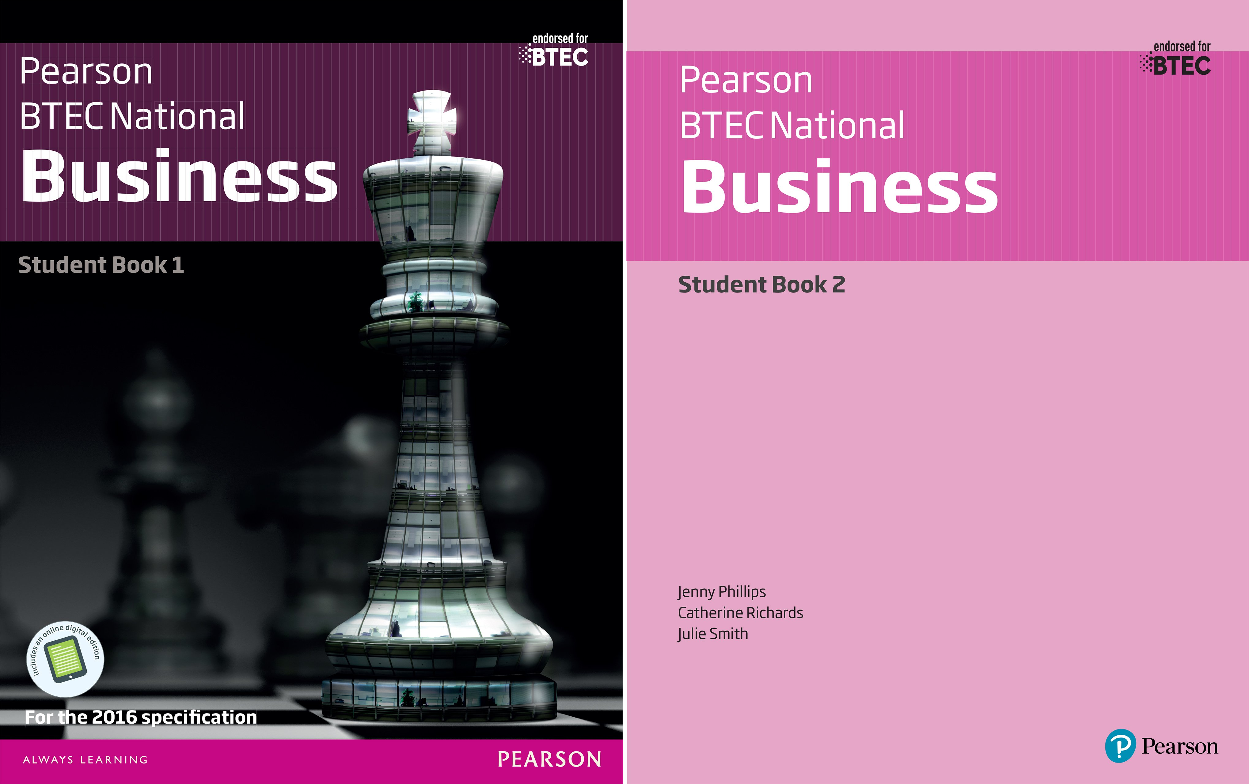 BTEC Nationals Business 2016 (2 Book Series)