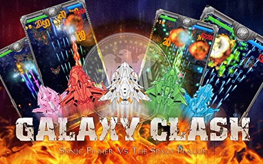 Galaxy Clash : Sonic Fighter Vs The Space Plague - from Panda Tap Games inc