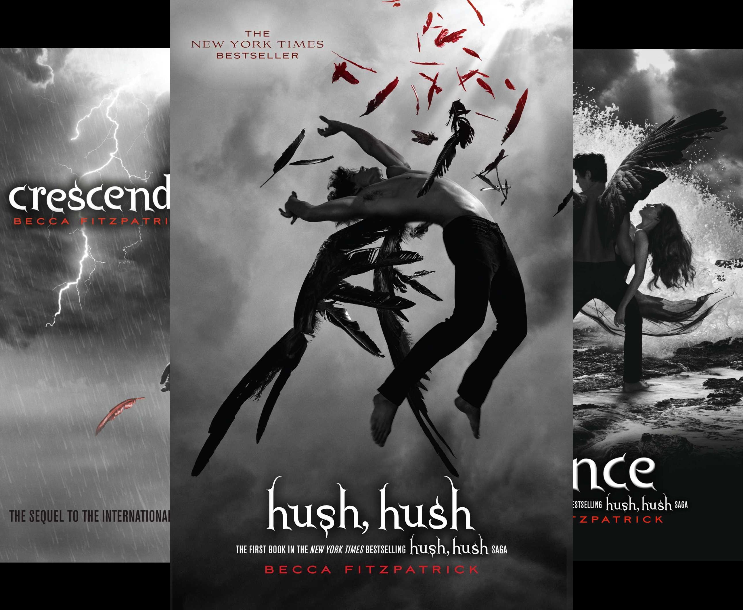 The Hush, Hush Saga (4 Book Series)
