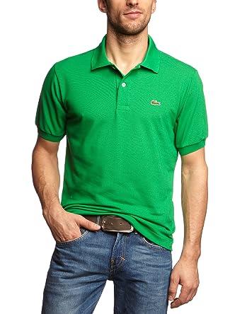Lacoste L1212 Camiseta Polo, Verde (Chlorophyle), 2XL (Talla del ...