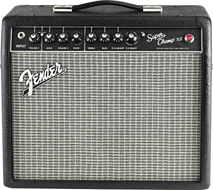 Fender Super Champ X2 15-Watt 1x10-Inch Guitar Combo Amp on