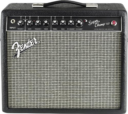 Fender Super Champ X2 15-Watt 1x10inch Guitar Combo Amp