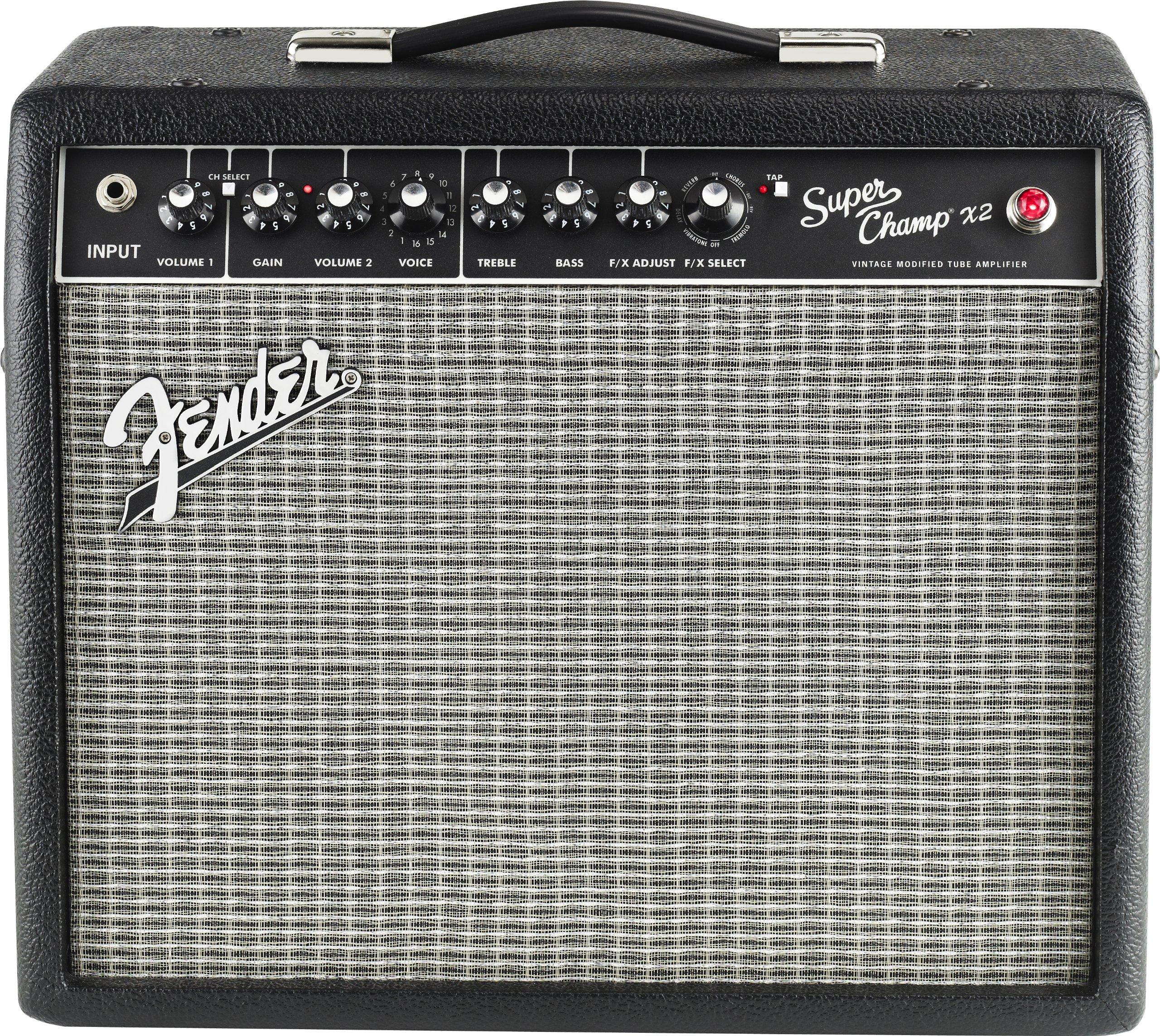Fender Super Champ X2 15-Watt 1x10-Inch Guitar Combo Amp by Fender