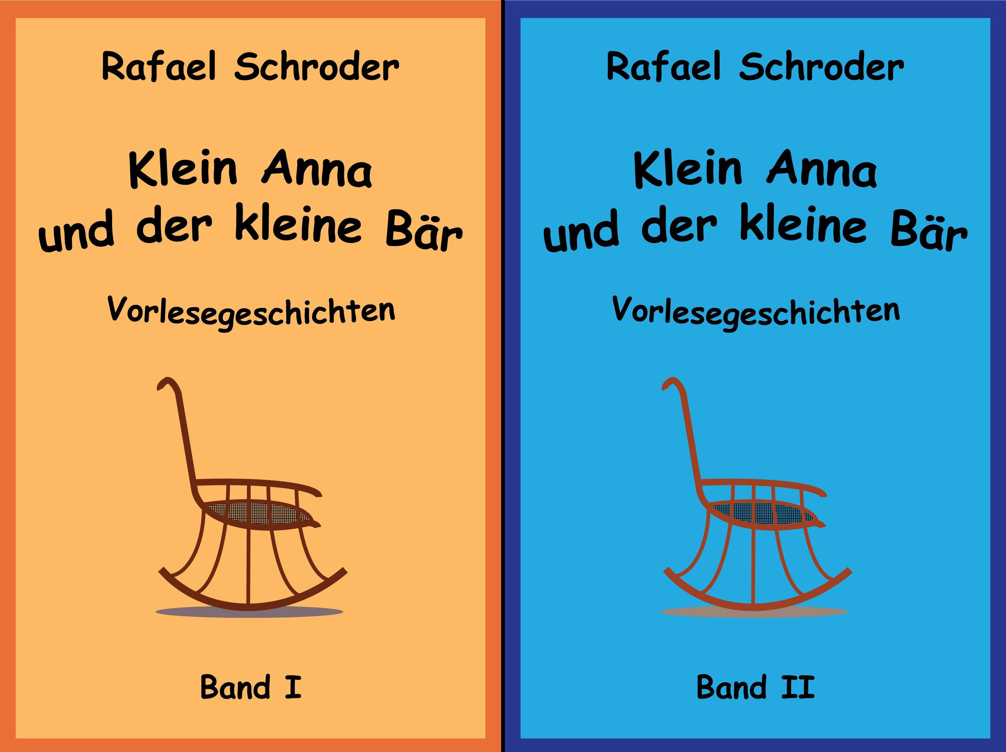 Klein Anna Und der Kleine Bär (Reihe in 2 Bänden)