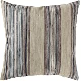 "Rivet Bohemian Stripe Decorative Pillow, 17"" x 17"", Dusk"