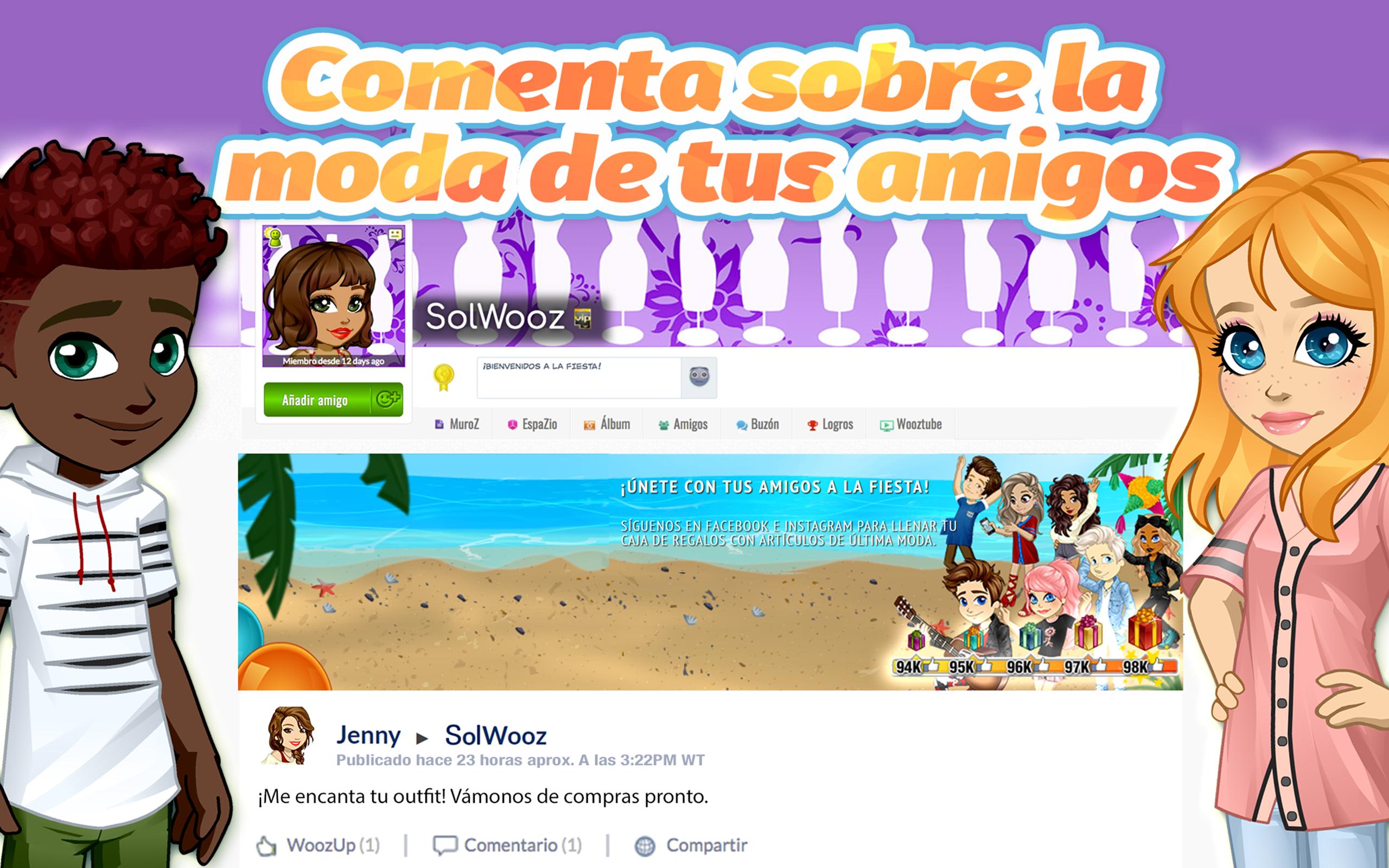 Woozworld: Tu avatar y mundo virtual de moda MMO: Amazon.es ...