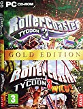 "Rollercoaster Tycoon 3: Wild Gold Edition PC (includes Roller Coaster Tycoon 3 and ""Wild!"" Expansion Disk) [import anglais]"
