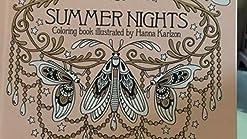 Summer Nights Coloring Book Originally Published In Sweden As Sommarnatt Karlzon Hanna 9781423645580 Amazon Com Books