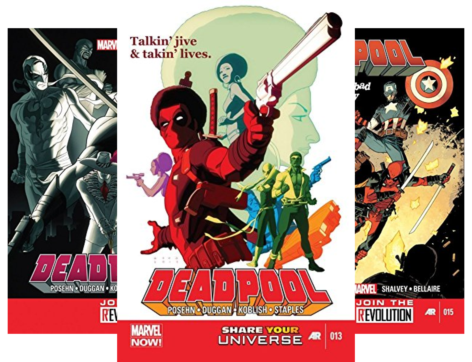 Deadpool: The Good, the Bad and the Ugly #13-18 (6 Book Series)