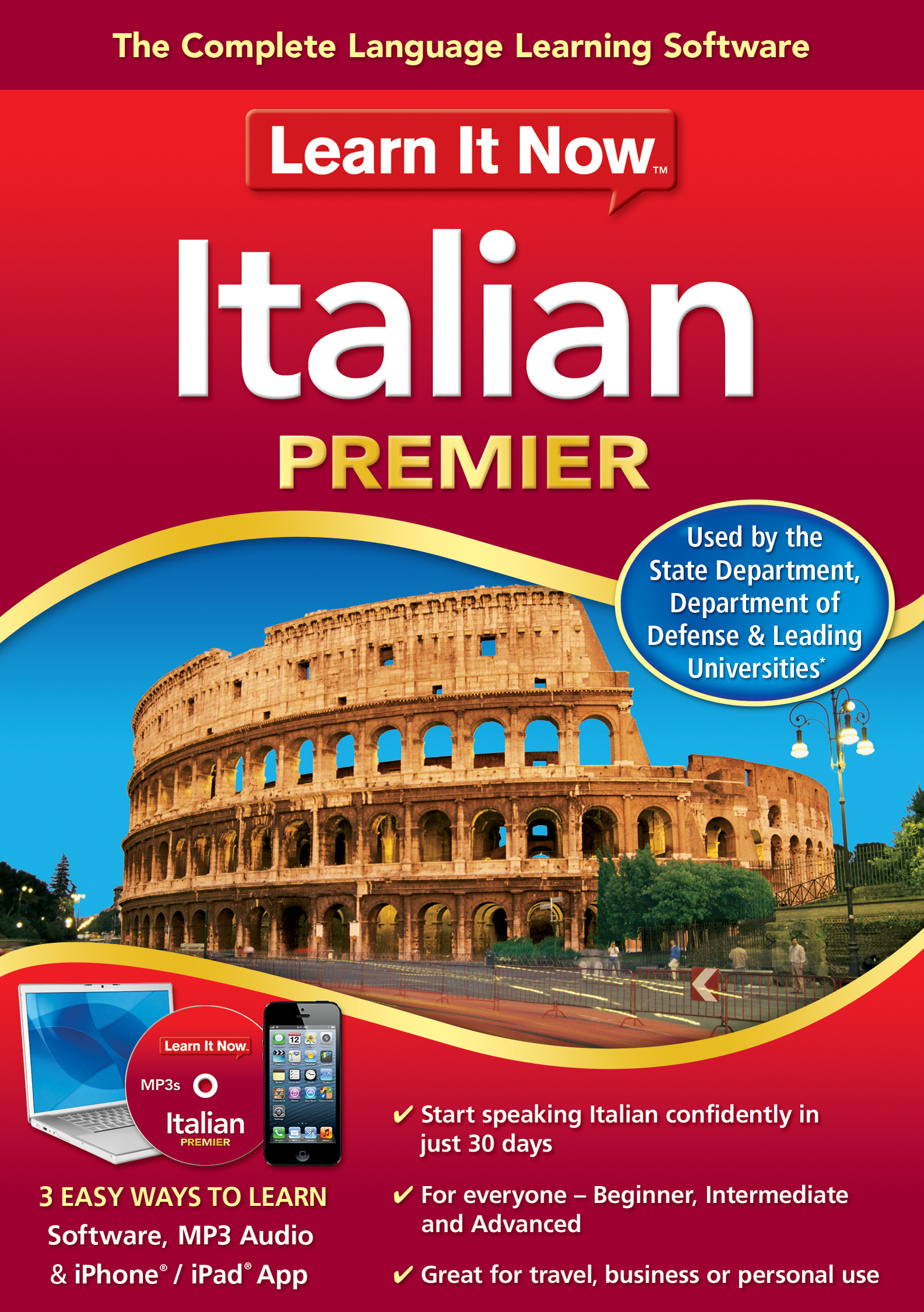 Learn It Now Italian Premier [Download] by Nova Development
