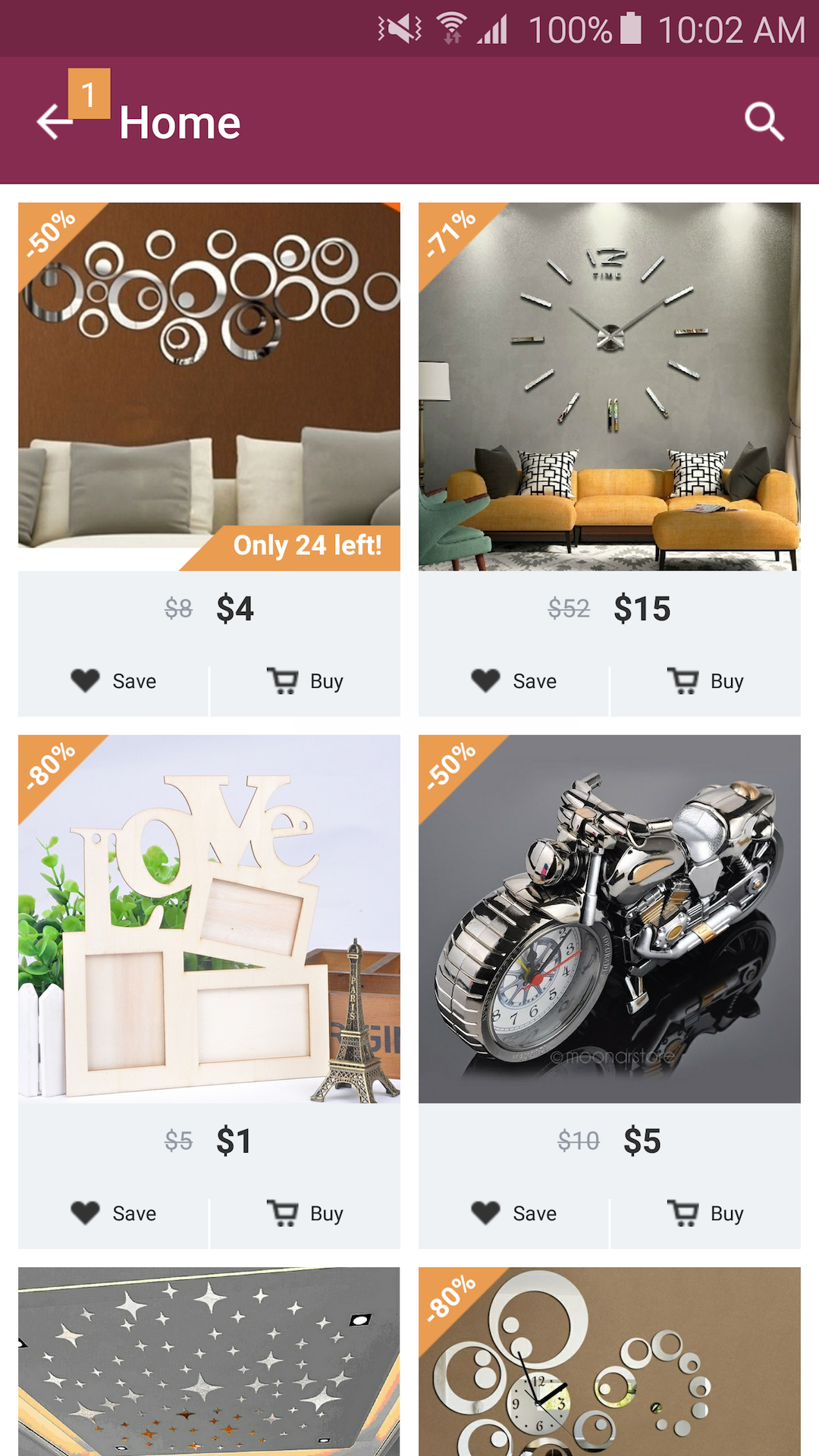 amazoncom home design decor shopping appstore for android - Home Design And Decor Shopping