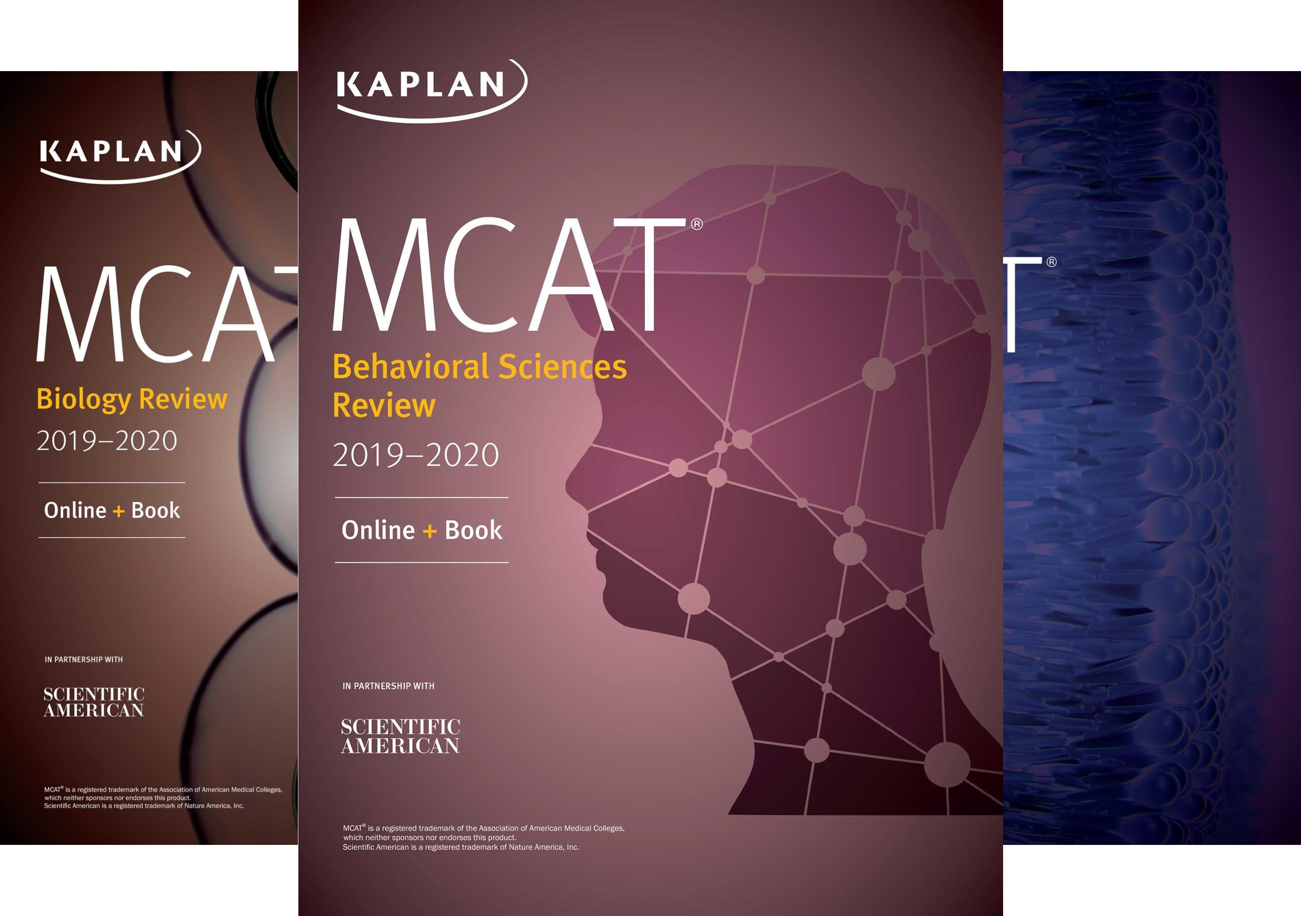 Kaplan's MCAT Complete 7-Book Subject Review 2019-2020