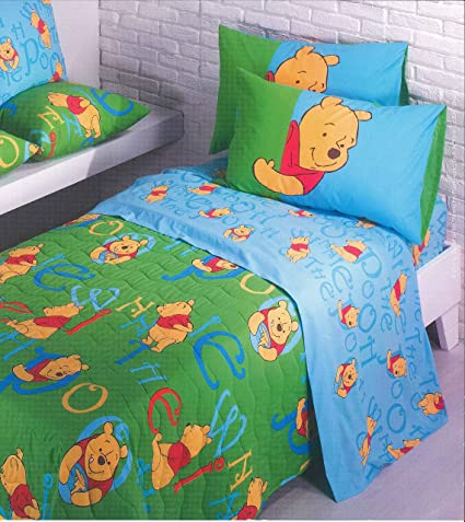 Copriletto Trapuntato Winnie The Pooh Delizioso Caleffi Una Piazza E Mezzo Mis 220x265 Cm Amazon It Casa E Cucina