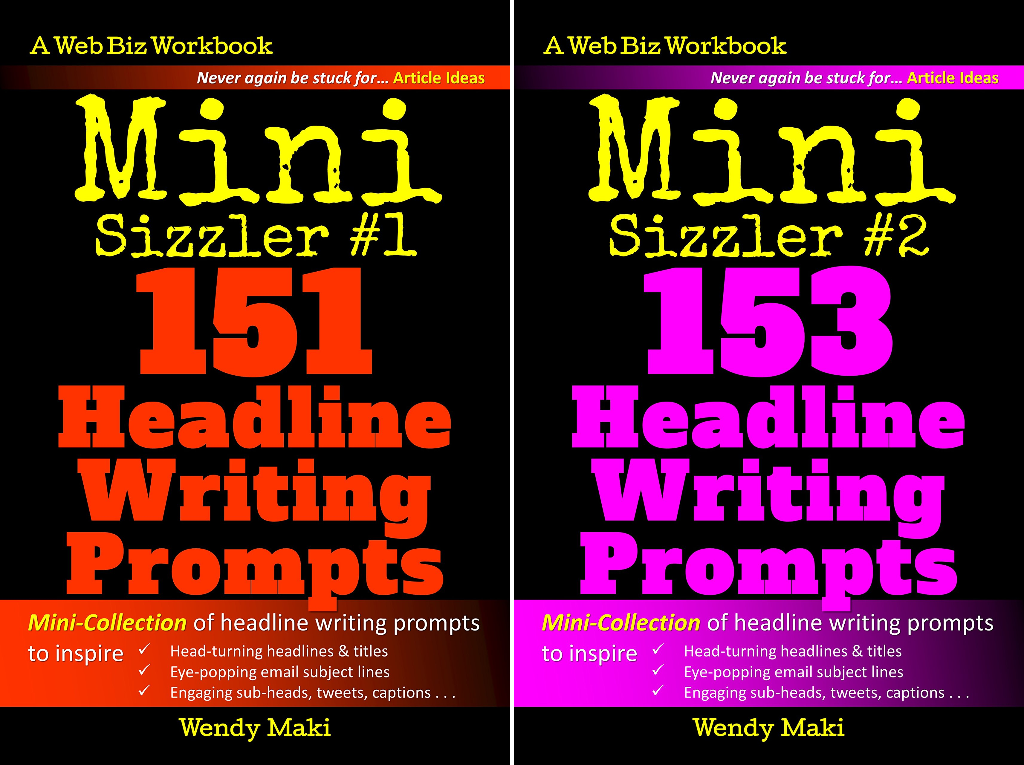 The Writing Prompts Collection (2 Book Series)
