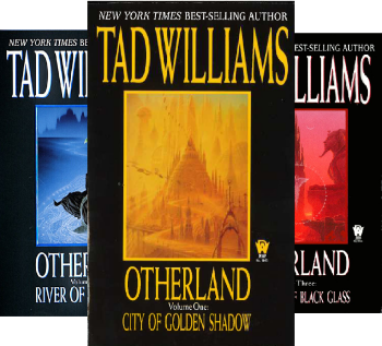 City of Golden Shadow by Tad Williams science fiction and fantasy book and audiobook reviews